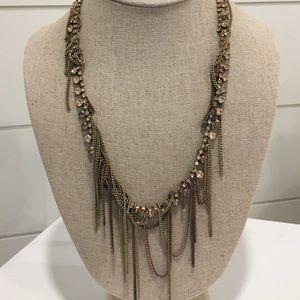Vintage Stella Dot Alexa Fringe Necklace